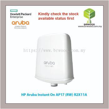 HP ARUBA R2X11A: INSTANT ON AP17 (RW) 2X2 11AC WAVE2 OUTDOOR ACCESS POINT