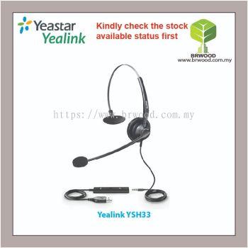 YEALINK YSH33: YEALINK USB HEADSET