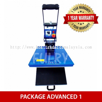 ( PACKAGE ADVANCED 1 ) Heat Press 40x50cm Auto Open with Drawer + Silhouette Cameo V3 Plotter + Epso