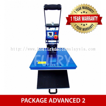 ( PACKAGE ADVANCED 2 ) Heat Press 40x50cm Auto Open with Drawer + Silhouette Cameo V3 Plotter + Epso