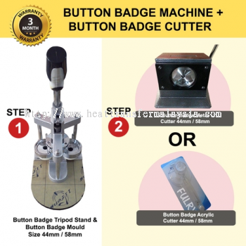 Button Badge Machine | Button Badge Cutter Printing