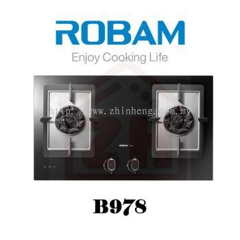 ROBAM 2 Burners Gas Cooker Hob B 978