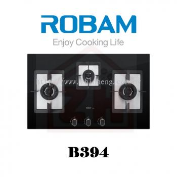 ROBAM 3 Burners Gas Cooker Hob B 394
