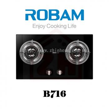 ROBAM 2 Burners Gas Cooker Hob B 716