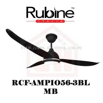 RUBINE Ceiling Fan RCF-AMPIO56-3BL