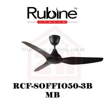 RUBINE Ceiling Fan RCF-SOFFIO50-3BL