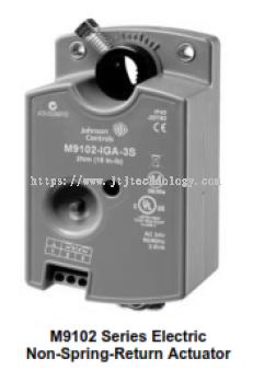 M9102-AGA-2S, -3S and M9104-xGA-2S, -3S Series Electric Non-Spring-Return Actuators