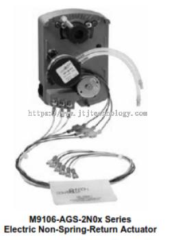 M9106-AGx-2N0x Series Electric Non-Spring-Return Actuators