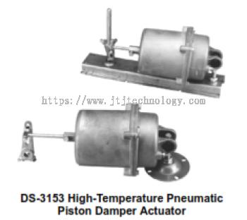 DS-3062 High-Temperature Pneumatic Piston Damper Actuator