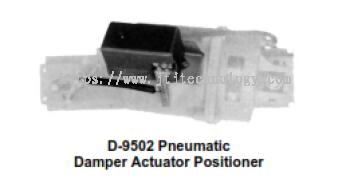 D-9502 Pneumatic Damper Actuator Positioner