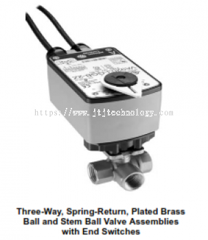 VG1000 Series-Three-Way Spring Return Without Switches