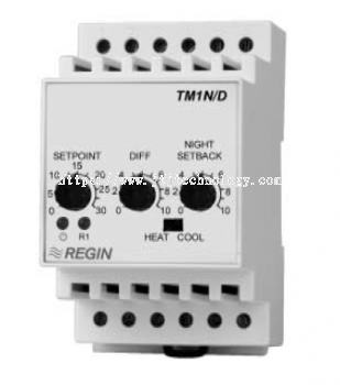 TM1N/D One stage electronic thermostat