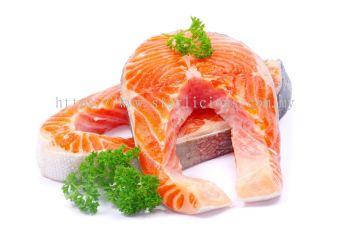 Salmon Steak Cut