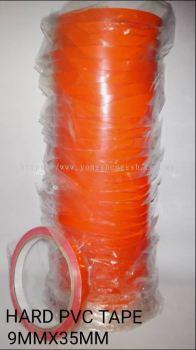 Hard PVC Tape (9mm x 35mm)