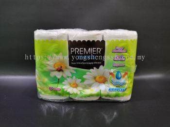 PAPER TISU PREMIER TOWELS (6ROLLS/3PKT/BAG)