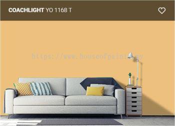Nippon Paint Satin-Glo - Coachlight (YO1168T)