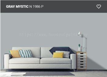 Nippon Paint Weatherbond - Gray Mystic (N1986P)