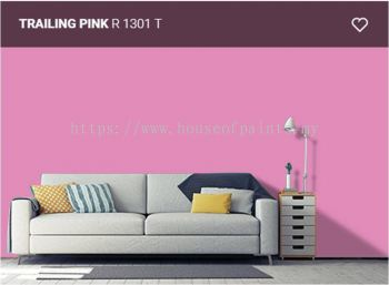 Nippon Paint Satin-Glo - Trailing Pink (R1301T)