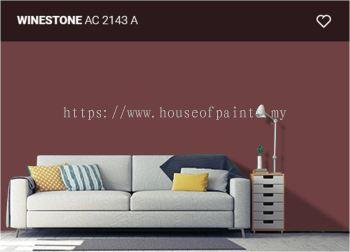 Nippon Paint Satin-Glo - WineStone (AC2134A)