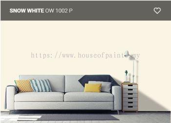 Nippon Paint Q-Glo - Snow White ( OW1002P )
