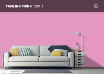 Nippon Paint Q-Glo - Trailing Pink (R1301T)