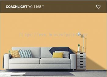 Nippon Paint Q-Glo - Coachlight ( YO1168T )