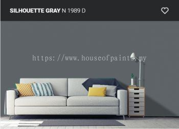 Nippon Paint Q-Shield - Silhoutte Gray (N1989D)