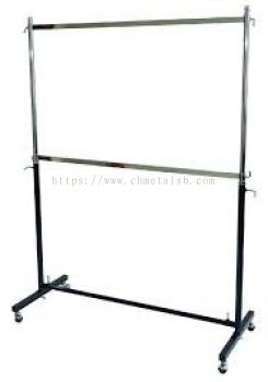 2 layer hanger stand