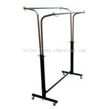 2 side hanger stand