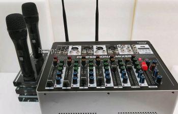 Ezitech Power mixer with wireless mic