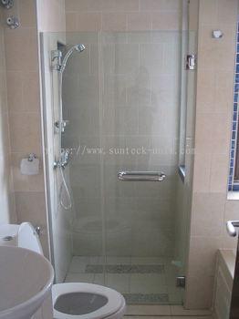 Frameless Shower Screen Swing Door
