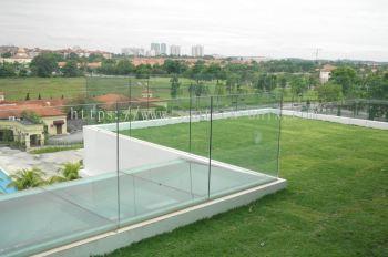 Balcony Frameless Glass Railing