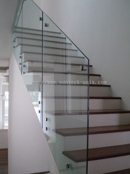 Framless Glass Railing