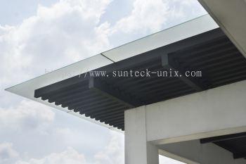 Glass Canopy Skylight