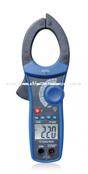 Clamp Meter for electrical ampere measurement