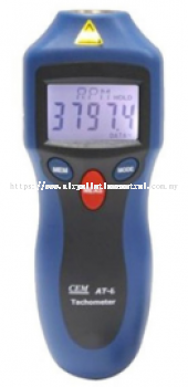 Tachometer for speed RPM measurement