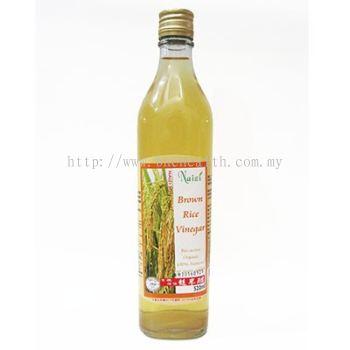 Organic Brown Rice Vinegar (520ml)