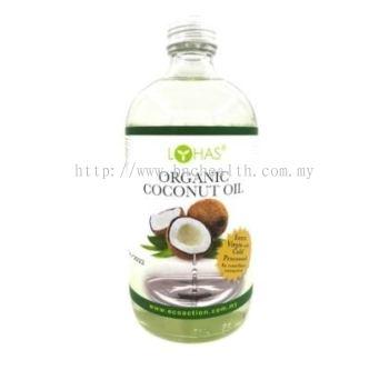 Lohas-Extra Virgin Organic Coconut Oil 有机冷压特纯椰油 480ml