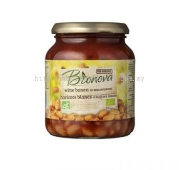 BIONOVA BAKED BEANS IN TOMATO/340GM 番茄汁黄豆
