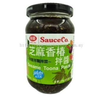Sesame Toona Paste 芝麻香椿拌酱 350g