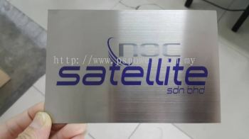 Stainless Steel UV Direct printing