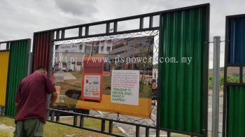 Zig-Zag Banner - Installation @Putrajaya
