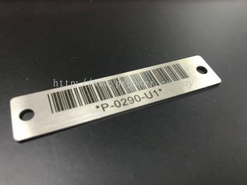 Laser Marking Service for Barcode