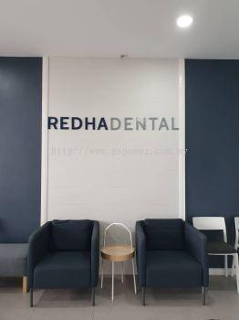 Acrylic Wording Signage for Dental