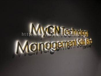 3D Lettering Back-Lit Signage - Company Signage