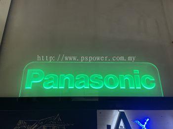 Acrylic Reverse Engraved Signage with LED