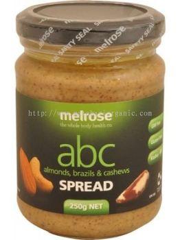 Melrose ABC Spread-Almond, Brazils & Cashews