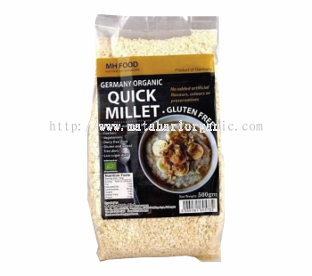 MH Food Germany Organic Quick Millet