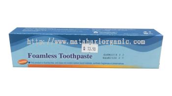 Foamless Toothpaste