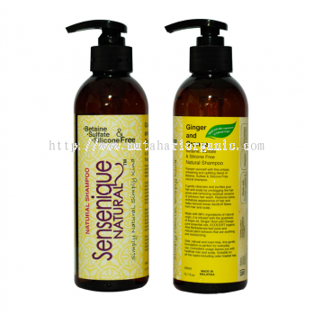 Sensenique Natural Ginger and Orange Shampoo